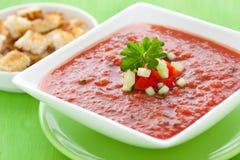 świeży gazpacho Zdjęcie Stock