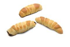 Świeży i smakowity croissant Fotografia Stock