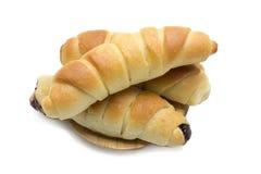 Świeży i smakowity croissant Zdjęcia Royalty Free