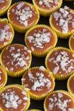 Świeży i smakowity karmelu cheesecake Obraz Stock