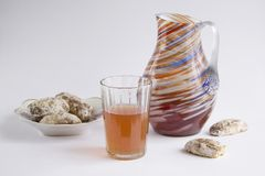 Świeży Jabłczany napój Obraz Stock