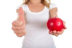Świeży jabłko dla śniadania Zdjęcie Royalty Free