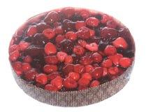 świeży jagody fruitcake zdjęcie royalty free