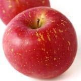 Świeży Japoński jabłko odizolowywający Zdjęcie Stock