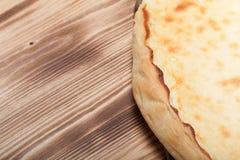 Świeży kulebiak z chałupa serem Obraz Stock