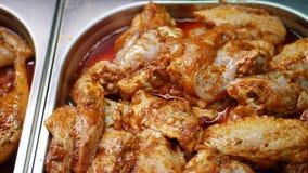 Świeży kurczaka mięso z podprawą zbiory