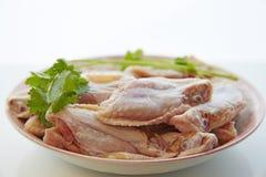 Świeży kurczaka skrzydło Zdjęcie Royalty Free