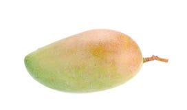Świeży mango, Zielony mango na białym tle Obraz Royalty Free