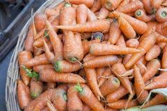 świeży marchewka rynek Nepal Obraz Stock