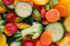 Świeży marznący warzywa eco jedzenie, natura Obrazy Stock
