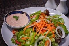 świeży mieszany sałatkowy warzywo Zdjęcia Stock