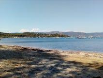 Świeży morze od Cote d& x27; azur obraz royalty free