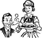 Świeży od piekarnika ilustracji
