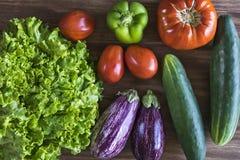 świeży ogród mój warzywa fotografia stock