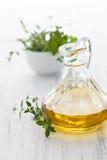 Świeży olej do smażenia Zdjęcia Stock