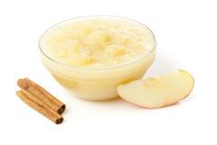 Świeży Organicznie AppleSauce zdjęcia royalty free