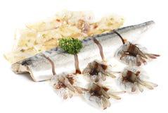 Świeży Owoce morza Zdjęcia Stock