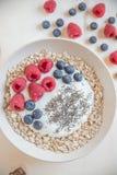 świeży owocowy jogurt Zdjęcia Stock