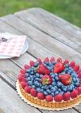 Świeży owocowy tarta Zdjęcie Royalty Free