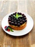 świeży piec cheesecake Zdjęcie Royalty Free