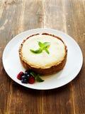 świeży piec cheesecake Zdjęcia Stock