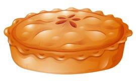 Świeży piec garnka kulebiak royalty ilustracja