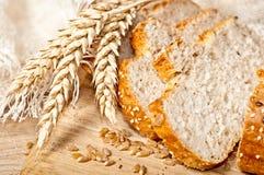 Świeży piec tradycyjny chleb Obrazy Stock