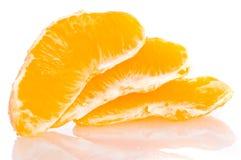 świeży pomarańczowy plasterek zdjęcia stock