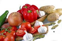 świeży produkty spożywcze Fotografia Stock