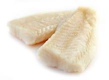 Świeży przygotowany rybi polędwicowy fotografia stock
