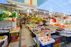 Świeży ranku rynek w Singapur Obraz Stock