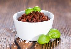 Świeży robić Pomidorowy Pesto Zdjęcie Royalty Free