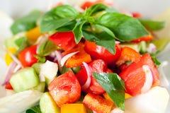 świeży sałatkowy smakowity warzywo obrazy stock