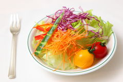 świeży sałatkowy warzywo Fotografia Royalty Free