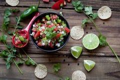 Świeży salsa Fotografia Stock