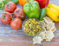 Świeży salsa Zdjęcie Royalty Free