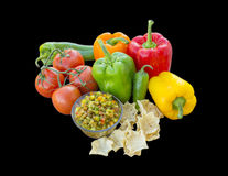 Świeży salsa Fotografia Royalty Free