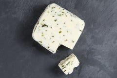 Świeży ser z szczypiorków ziele Zdjęcie Stock
