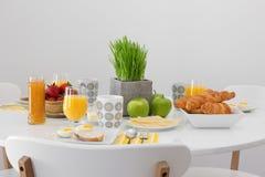 Świeży smakowity śniadanie zdjęcia royalty free