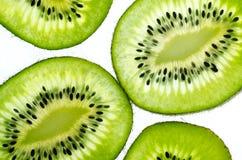 Świeży soczysty kiwi owoc plasterek zdjęcie stock
