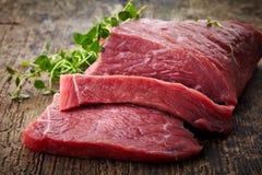 Świeży surowy mięso Zdjęcia Royalty Free