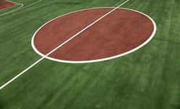 świeży tła boisko do koszykówki Zdjęcia Stock
