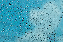 Świeży tło wodne krople Zdjęcia Stock