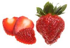 świeży truskawkowy smakowity Fotografia Stock
