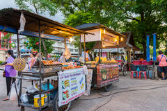 Świeży uliczny jedzenie Fotografia Stock