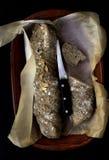 Świeży wholemeal chleb Fotografia Royalty Free