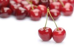 świeży wiśnia cukierki zdjęcia stock