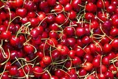 świeży wiśnia stos Fotografia Stock