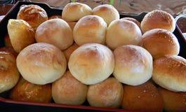 Świeży wsad asortowani chleby fotografia royalty free