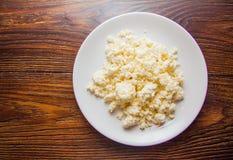 Świeży wyśmienicie chałupa ser zdjęcie royalty free